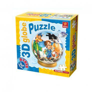 Puzzle Special Globe - Basme - Pinocchio