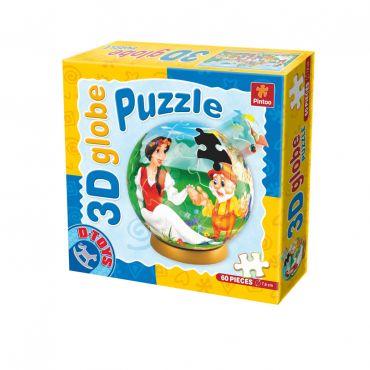 Puzzle Special Globe - Basme - Albă ca Zăpada