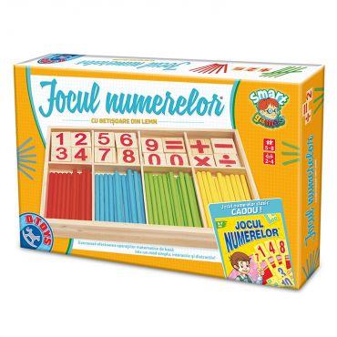 Jocul Numerelor + Piese din lemn