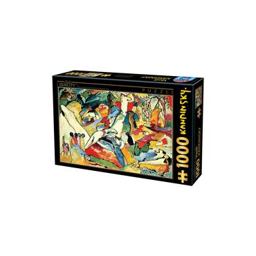 Puzzle1000 Kandinszky 01