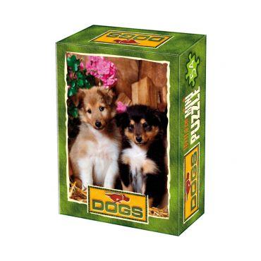 Mini Puzzle 54 Piese Animale Domestice Foto - 6