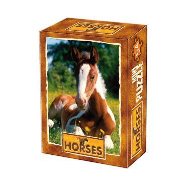 Mini Puzzle 54 Piese Animale Domestice Foto - 3