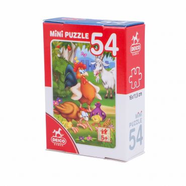 Mini Puzzle 54 Piese Animale - 4