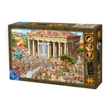 Puzzle 1000 pcs Cartoon - Parthenon