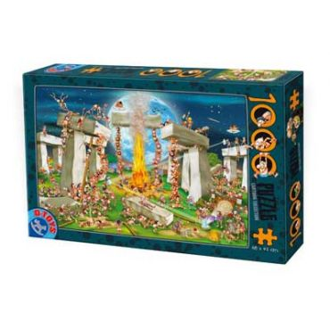 Puzzle1000 pcs Cartoon - Stonehenge