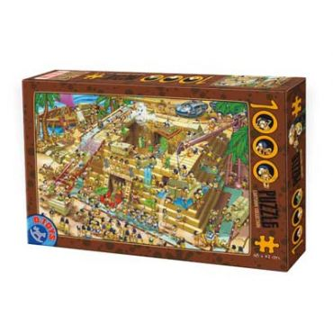 Puzzle 1000 pcs Cartoon - Pyramid