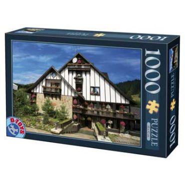 Puzzle - Imagini din Romania - Hotel Plai de Dor Bucovina - 1000 Piese