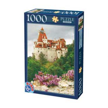 Puzzle - Imagini din Romania - Castelul Bran - Ziua - 1000 Piese
