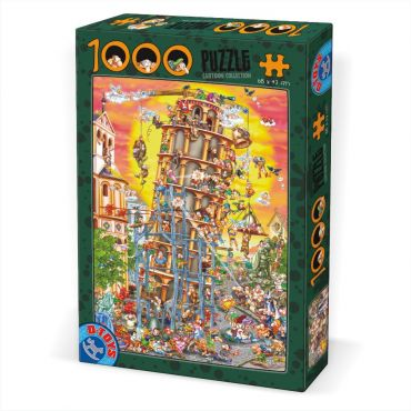 Puzzle 1000 pcs Cartoon - Pisa