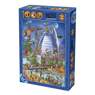 Puzzle 1000 pcs Cartoon - Dubai