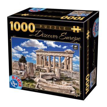 Puzzle - Descoperă Europa - 1000 Piese - 5