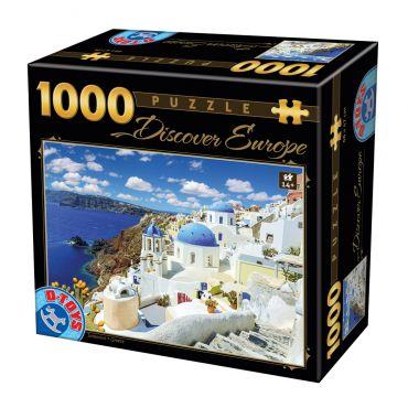 Puzzle - Descoperă Europa - 1000 Piese - 6
