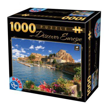 Puzzle - Descoperă Europa - 1000 Piese - 7