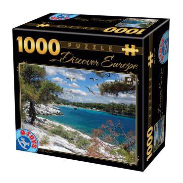 Puzzle - Descoperă Europa - 1000 Piese - 8