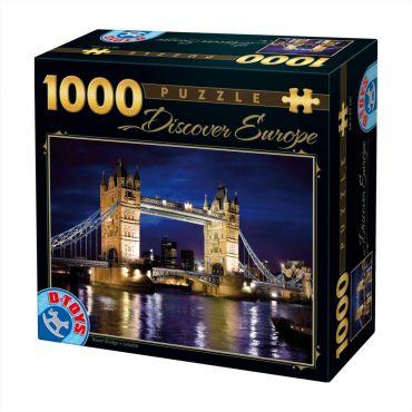 Puzzle 1000 pcs Descopera Europa-1