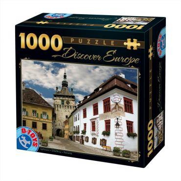 Puzzle1000 pcs Descopera Europa-2