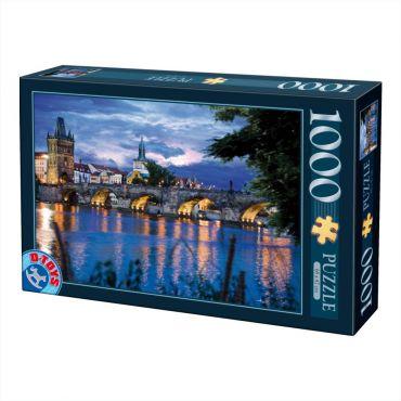 Puzzle 1000 pcs Peisaje de noapte-9