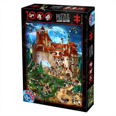 Puzzle 1000 pcs Cartoon - Dracula