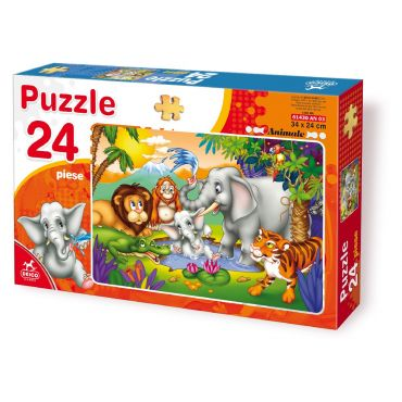 Puzzle 24 Piese Animale - 3