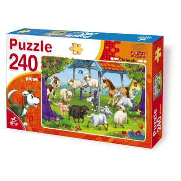 Puzzle 240 Piese Animale - 3