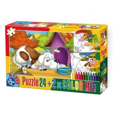 Puzzle 24 Color Me Animale 2