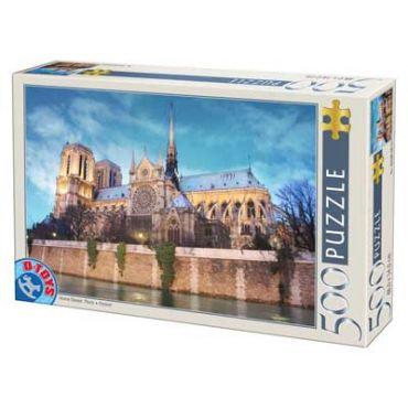 Puzzle 500 pcs Peisaje de zi-34