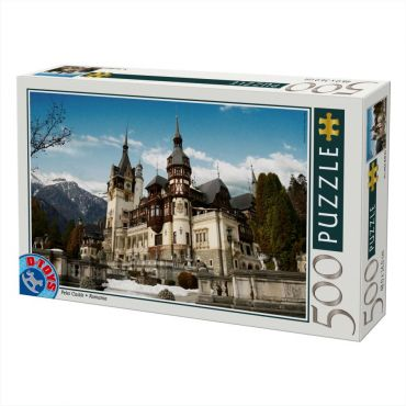 Puzzle 500 - Castelul Peles Sinaia