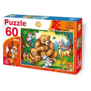 Puzzle 60 Piese Animale - 3