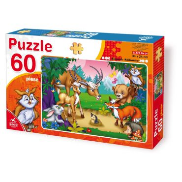 Puzzle 60 Piese Animale - 4