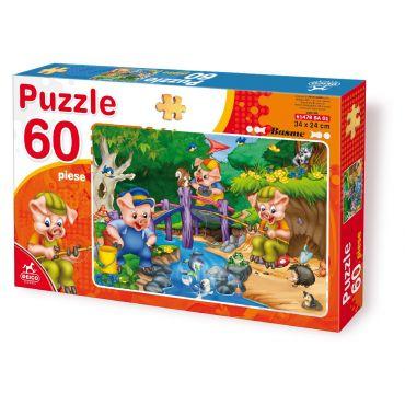 Puzzle 60 Piese Basme - 1