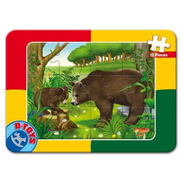 Puzzle 12 Piese Animale - 8