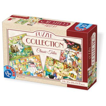 Puzzle Collection Classic Tales (24,35,48,60 piese)