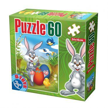 Mini Puzzle - Paște - 60 Piese - 2