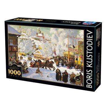 Puzzle 1000 - Boris Kustodiev