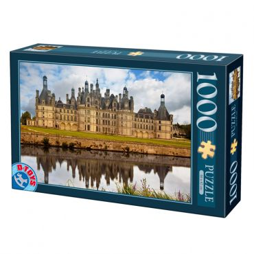 Puzzle 1000 pcs Castele franceze - 1