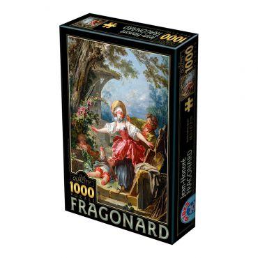 Puzzle 1000 Jean-Honore Fragonard 01