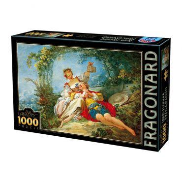 Puzzle 1000 Jean-Honore Fragonard 02