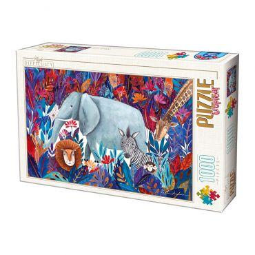Puzzle 1000 Andrea Kürti - Tropical 04