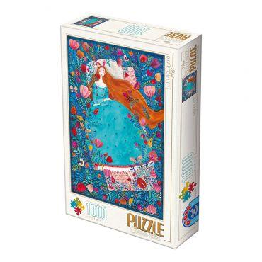 Puzzle 1000 Andrea Kürti - 04 Sleeping Beauty