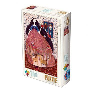 Puzzle 1000 Andrea Kürti - 01 Snow White