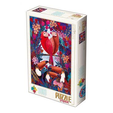 Puzzle 1000 Andrea Kürti - Tropical 01