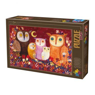 Puzzle 1000 Kürti Andrea Owls 1