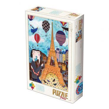 Puzzle 1000 - Kürti Andrea - Cities (Paris)