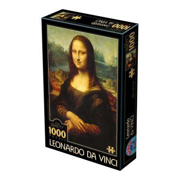 Puzzle 1000 Leonardo Da Vinci 01