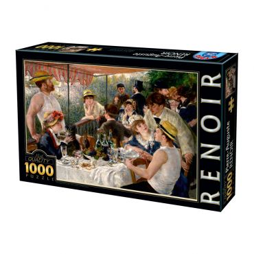 Puzzle Pierre-Auguste Renoir - Luncheon of the Boating Party - 1000 Piese