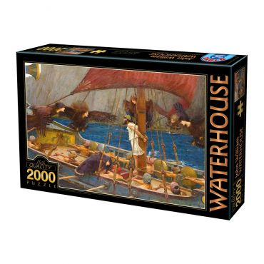 Puzzle 2000 Waterhouse 01