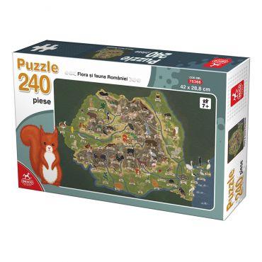 Puzzle 240 Flora si Fauna Romaniei