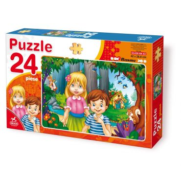 Puzzle 24 Piese Basme - 2