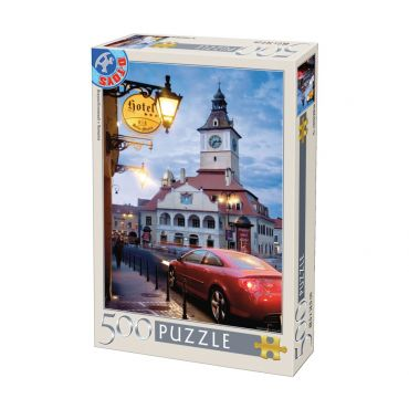 Puzzle 500 - Brasov- Seara