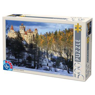 Puzzle 500 - Castelul Bran - Iarna